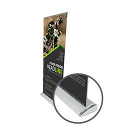 Premium Roller Banner- www.ontiemprint.co.uk