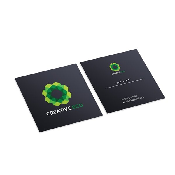 Square Business Cards Express I From 1975 I Free Delivery