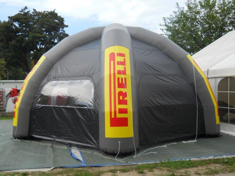4 Leg Spider Inflatable Tent Printing UK, Next Day Delivery - www.ontimeprint.co.uk