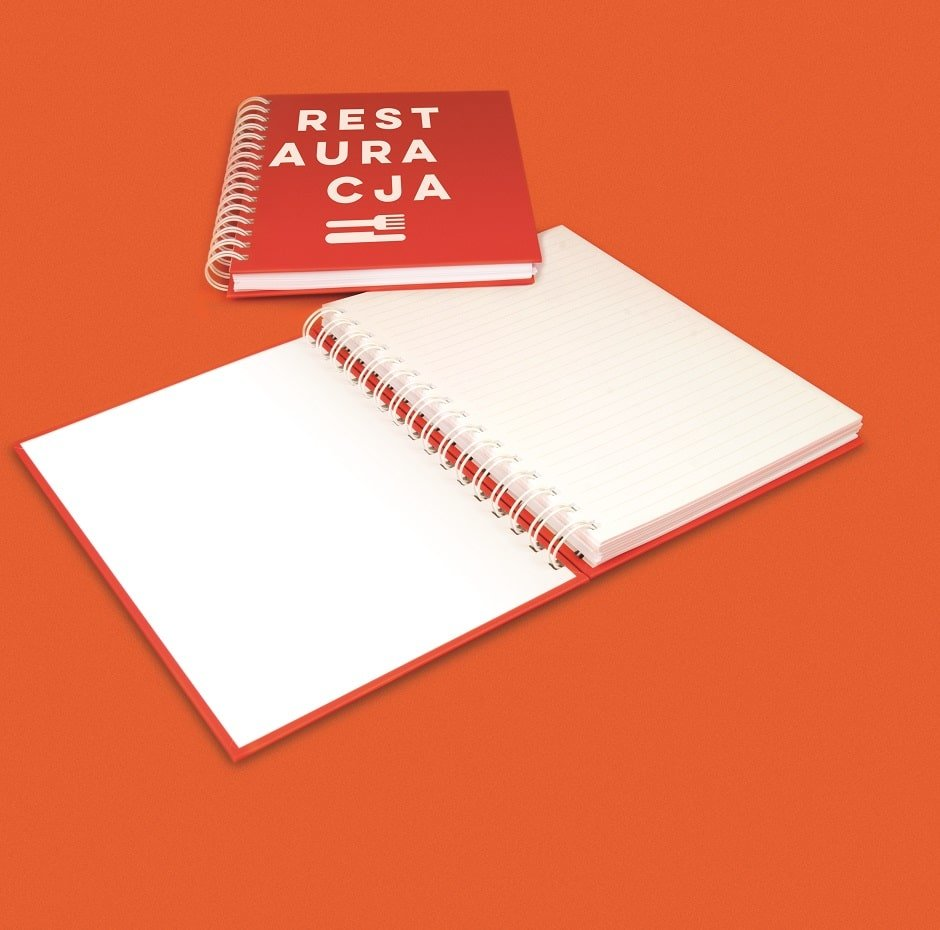 Pesronalised Wire Bound Hardcover Notebook, www.ontimeprint.co.uk