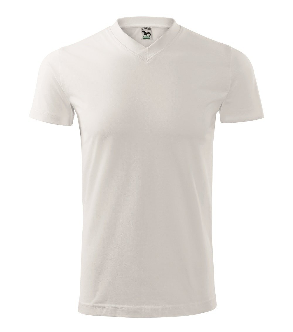 Cheap Custom Printed Embroidered Promotional V-Neck unisex T-Shirts