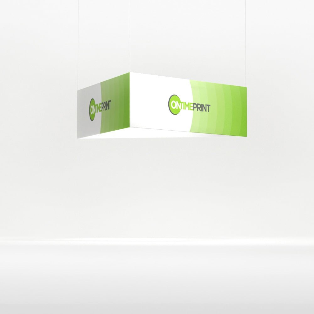 Presto Triangle Exhibition Hanging System, full colour print- www.ontimeprint.co.uk