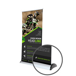 Deluxe Roller Banner Printing UK, Next Day Delivery - www.ontimeprint.co.uk