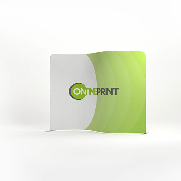 Presto serpentine Fabric Display  Printing UK, Next Day Delivery - www.ontimeprint.co.uk