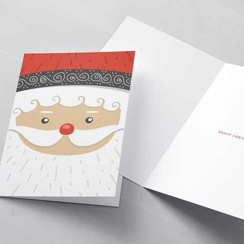 Bespoke Printed Christmas Cards, free envlopes, www.ontimeprint.co.uk