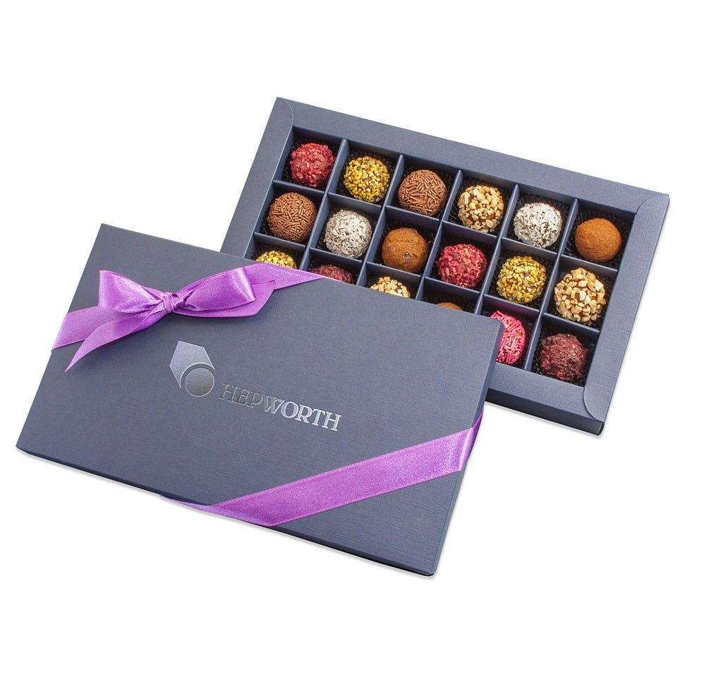 Personalised Parzipan Premium Chocolate Box- great Christmas gift, www.ontimeprint.co.uk